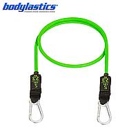 Зеленый трубчатый эспандер Bodylastics (сопротивление 2.3 кг)