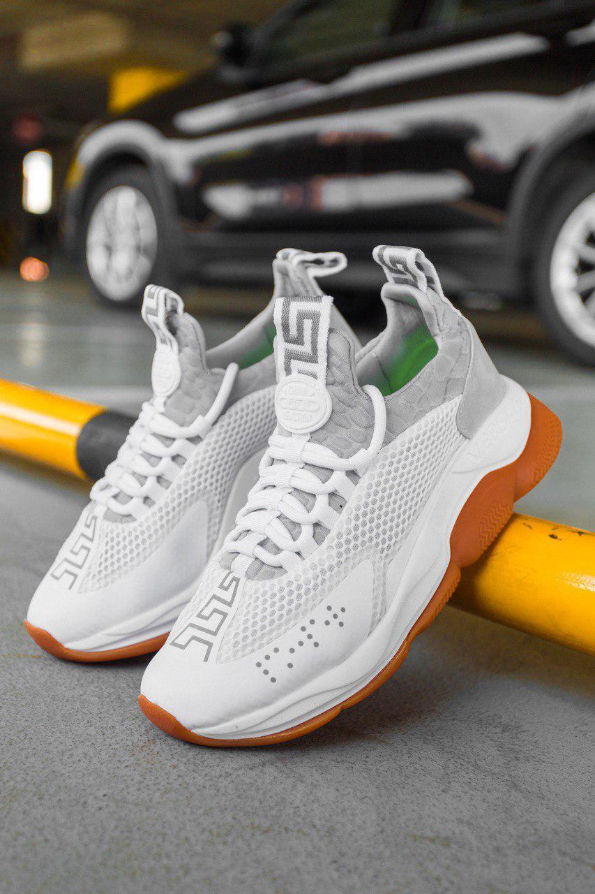 Женские кроссовки Versace Cross Chainer Sneakers, Реплика