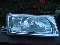 Фара правая Skoda Octavia Tour, (Шкода Октавия Тур) 2000-2010 (Depo) H4+H3 под электрокорректор