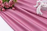 Сатин премиум, цвет увядающей розы, ширина 240 см (№1072-37), фото 2