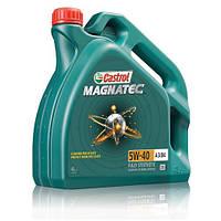 Моторное масло синтетика Castrol (Кастрол) Magnatec 5W-40 A3/B4 4л
