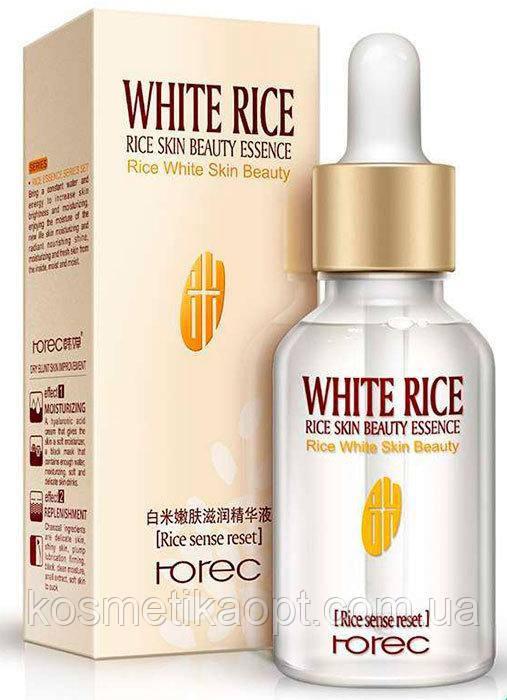 Rorec White Rice Serum  Отбеливающая сыворотка с белым рисом, 15 мл