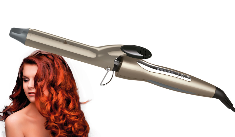 Щипцы для завивки волос 33 мм Concept KK-1150 Golden Care