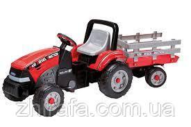 Детский педальный трактор Peg-Perego Maxi Diesel Tractor с прицепом