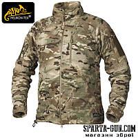 Куртка флісова Helikon-Tex ALPHA TACTICAL - MultiCam