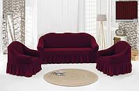 Чехол на диван + кресла (Жаккард)