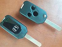 Корпус выкидного ключа для Honda (Хонда) Pilot, Accord,Jazz, HR-V 3 кнопки