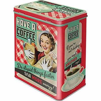 Коробка для хранения Nostalgic-Art Have a Coffee L (30123)