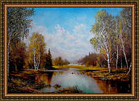 Репродукція картини Осінь. 400х600мм (в рамі) №329