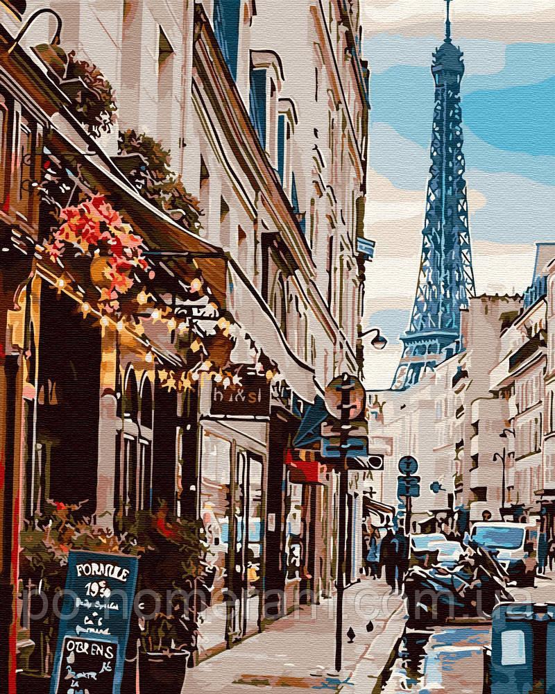 Раскраска для взрослых Яркий Париж (BRM30083) 40 х 50 см ...