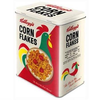 Коробка для хранения Nostalgic-Art Kellogg's Corn Flakes L