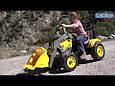 Педальный экскаватор трактор  MAXI EXCAVATOR, PEG-PEREGO (CD 0552), фото 4