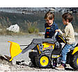 Педальный экскаватор трактор  MAXI EXCAVATOR, PEG-PEREGO (CD 0552), фото 5