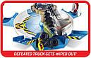 Трек Хот Вилс Опасное противостояние Hot Wheels Monster Trucks Mecha Shark Face-off Playset, фото 5