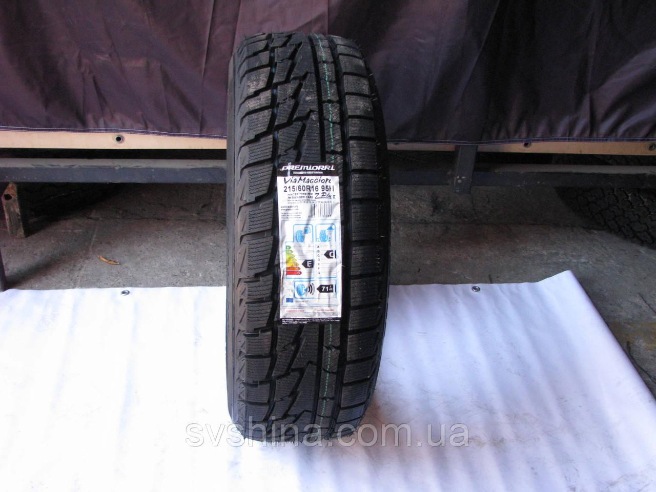 Зимние шины 215/60R16 Premiorri ViaMaggiore Z Plus, 95Н