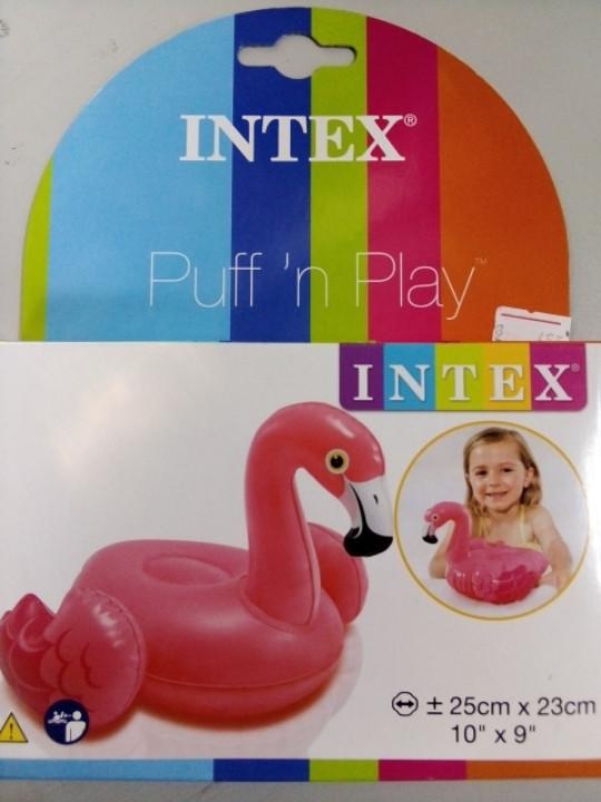 Надувная игрушка фламинго для купания в ванной