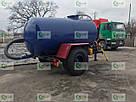 Ассенизаторская прицепная бочка для внесения жидкого навоза (воды), транспортировки отходов объёмом 4 куба, фото 2