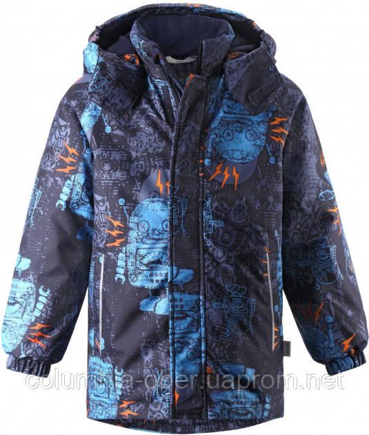 Зимняя куртка для мальчика Lassie by Reima Juksu 721733.9-6956. Размер 104.