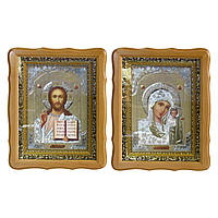Икона Казанская и Иисус Христос, 26*33см., набором.