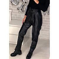 Штаны кожаные женские  585 (Фабричный Китай)