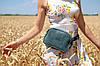 """Сумка """"Модель №57"""" Кожа Итальянский краст цвет Янтарь, фото 10"""
