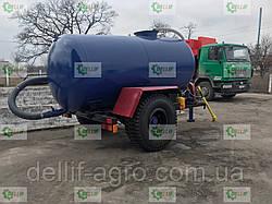 Ассенізаторська причіпна бочка для внесення рідкого гною (води), транспортування відходів об'ємом 6 кубів