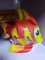 Надувная игрушка рыбка для купания