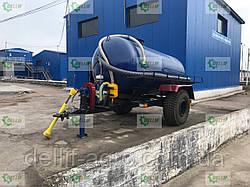 Ассенізаторська причіпна бочка для внесення рідкого гною (води), транспортування відходів об'ємом 10 кубів