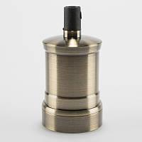 Винтажный патрон для абажура бронзовый