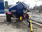 Ассенизаторская прицепная бочка для внесения жидкого навоза (воды), транспортировки отходов объёмом  10 кубов, фото 2