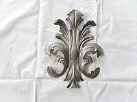 Лист кованый штампованный 220*150 мм, фото 1