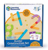 Конструктор Строим числа от learning resources ( Number Construction Set)