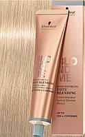 Осветляющий бондинг-крем для седых волос Schwarzkopf Prof Blondme Bond Enforcing White Blending Sand - 60 мл