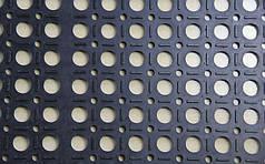 Ячеистый резиновый коврик  1200*2000*12 мм