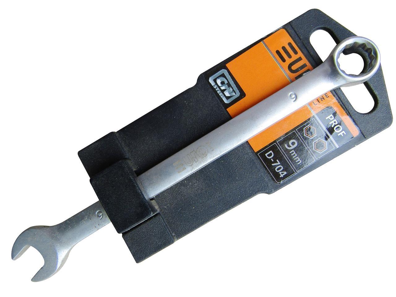 Ключ рожково-накидной 8мм (EURO LINE) D703