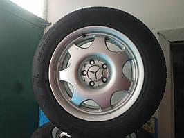 225/55/R16 Mercedes Комплект литые диски + шины 4шт. Лето
