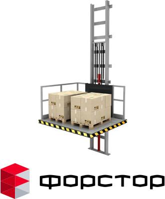 Гидравлический лифт для мезонина