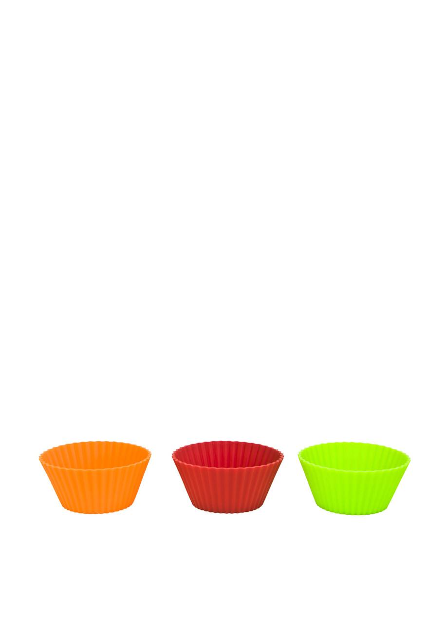 Набор силиконовых форм для кексов Kaiser 6 шт