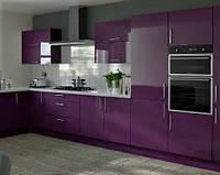 Фиолетовая/лавандовая кухня под заказ ViAnt Киев, Ирпень, Буча