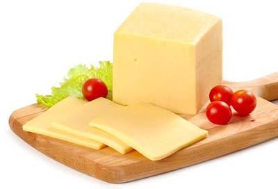 Сыр твёрдый  Голандский ( Каланчатский)  45% жирности 1 кг