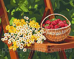 Картина по номерам Летние дары (KHO5560) 40 х 50 см Идейка [Без коробки]
