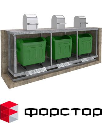 Гидравлические мусорные подъемники