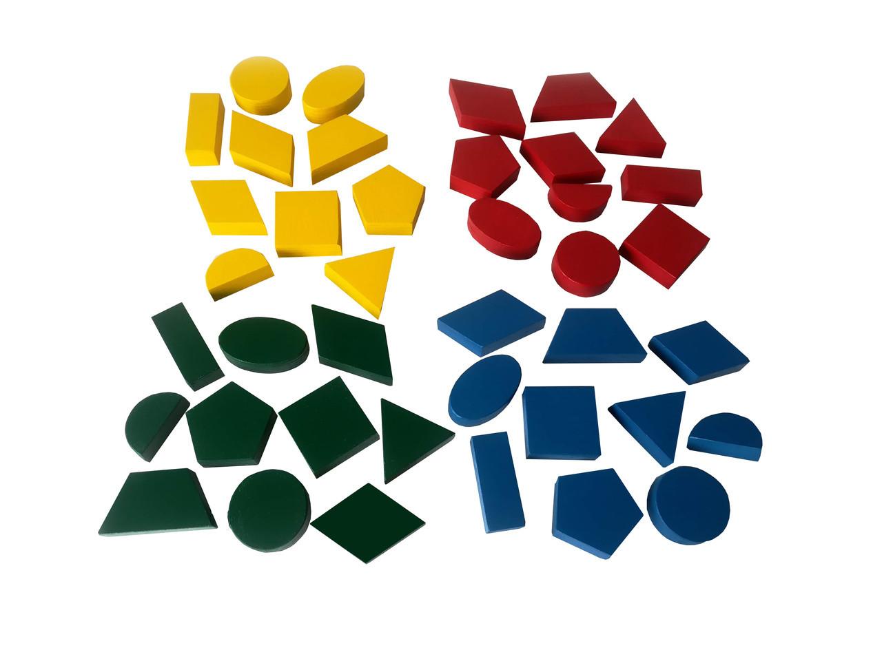 Набір геометричних тіл лабораторних Hega (204)