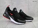 Мужские кроссовки Nike Air Max 270 (черно/красные), фото 2