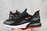 Мужские кроссовки Nike Air Max 270 (черно/красные), фото 4