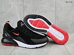 Мужские кроссовки Nike Air Max 270 (черно/красные), фото 3