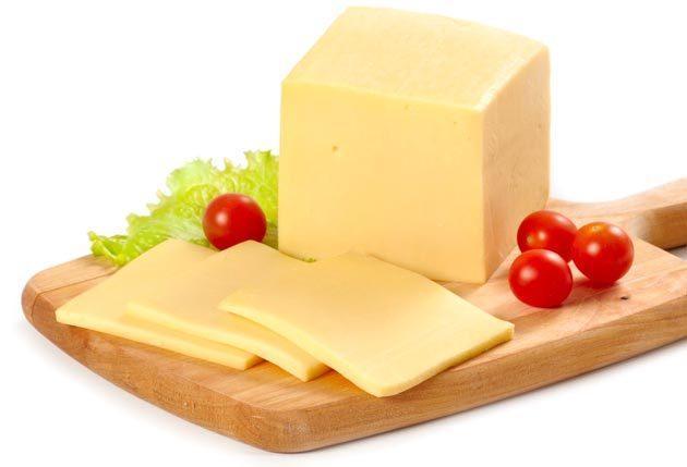 Сыр твёрдый Голандский (Каланчатский) 45% жирности 500 грамм