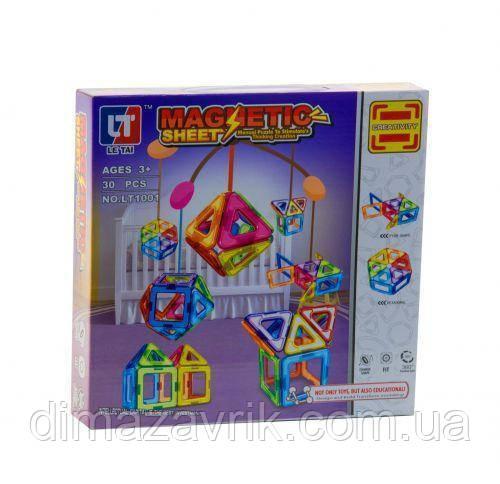 Магнитный конструктор LT1001 30 деталей