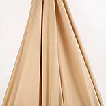 Лоскут поплина, цвет кофе с молоком светлый №53-1356, размер 37*120 см, фото 2