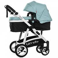 Прогулочная универсальная коляска 2в1 Carrello Fortuna CRL-9001 Голубая